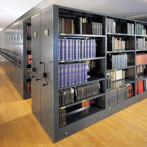 Fahrregale in Bibliotheken