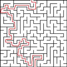 Lösung Labyrinth 2