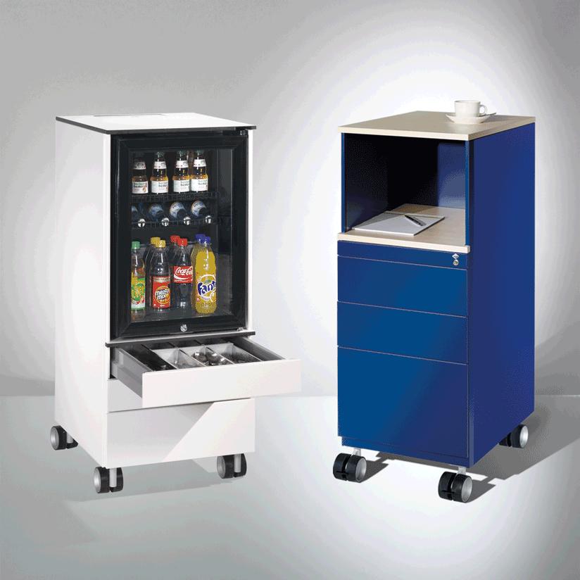 Stehcontainer und Kühlschrankcaddies