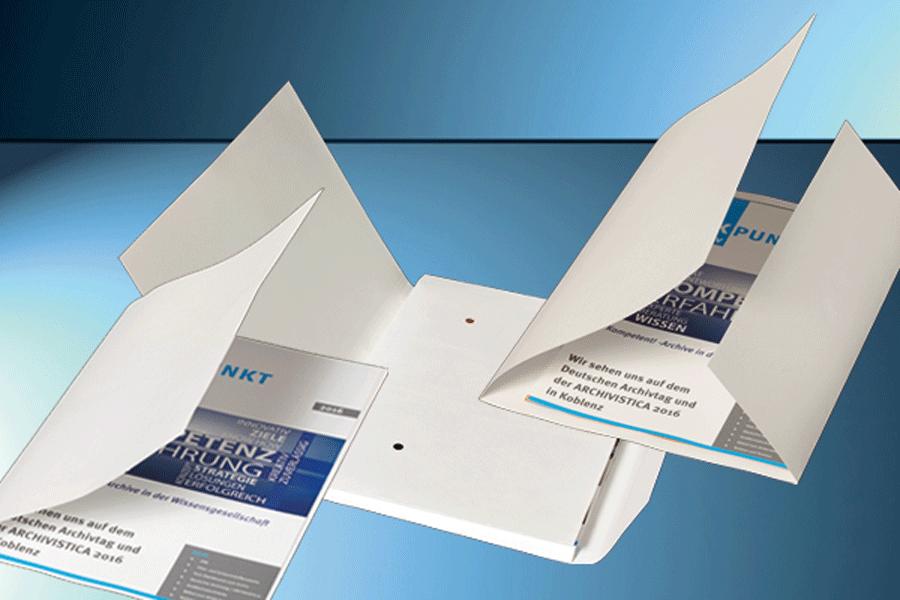 Aktenumschläge aus Papier
