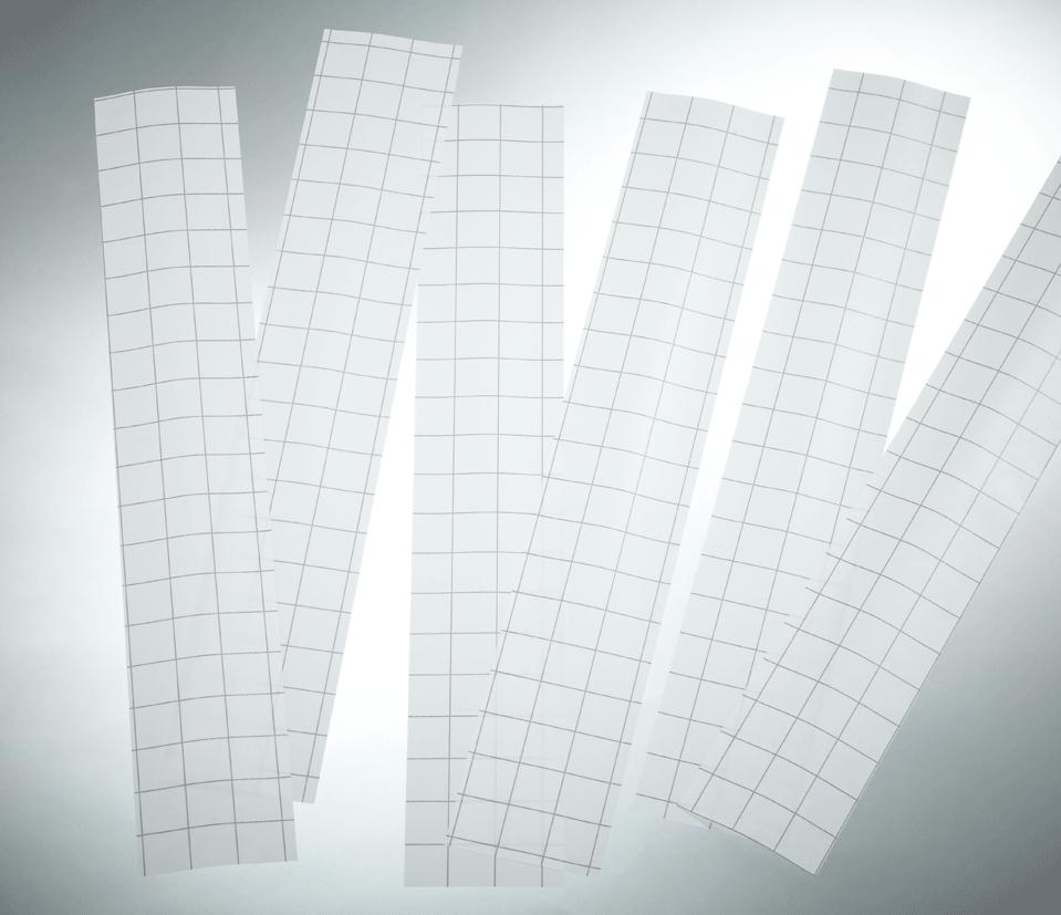 Klarfix-Schutzstreifen und Einsteckschilder