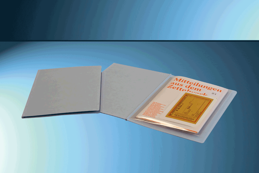 Broschüren- und Zeitschriftenverstärker