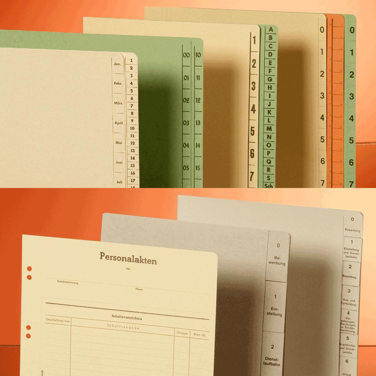 Trennblätter/Trennblattsätze