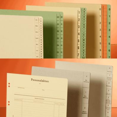 Trennblätter/Personalakten-Trennblattsätze