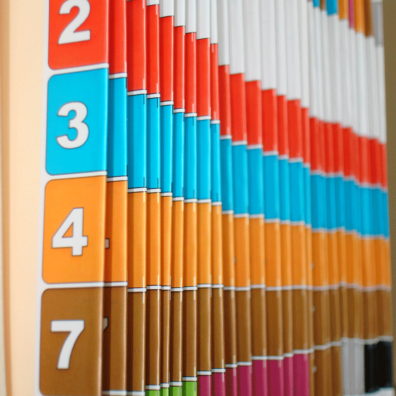 Color-Filesystem Einstellmappen und -hefter