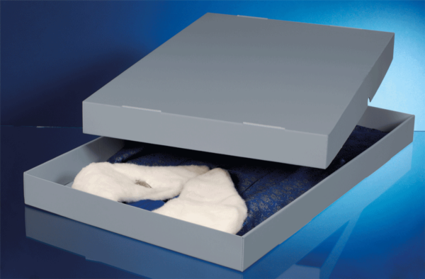 Aufbewahrungsbox für Textilien