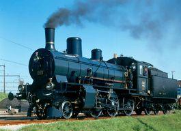 SBB Historic-Dampflokomotive B 3/4 1367 Bj. 1916